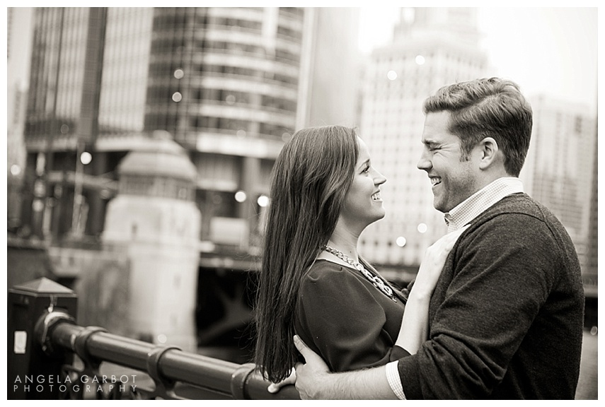 Whitney + Bob | Pre-Wedding + Engagement Session Chicago, IL ©Angela Garbot Photography http://www.AngelaGarbot.com Facebook: http://www.facebook.com/AGarbot Twitter: @PhotosByGarbot LinkedIn: www.linkedin.com/in/AngelaGarbotPhotography 773.383.8858 | angie@angelagarbot.com