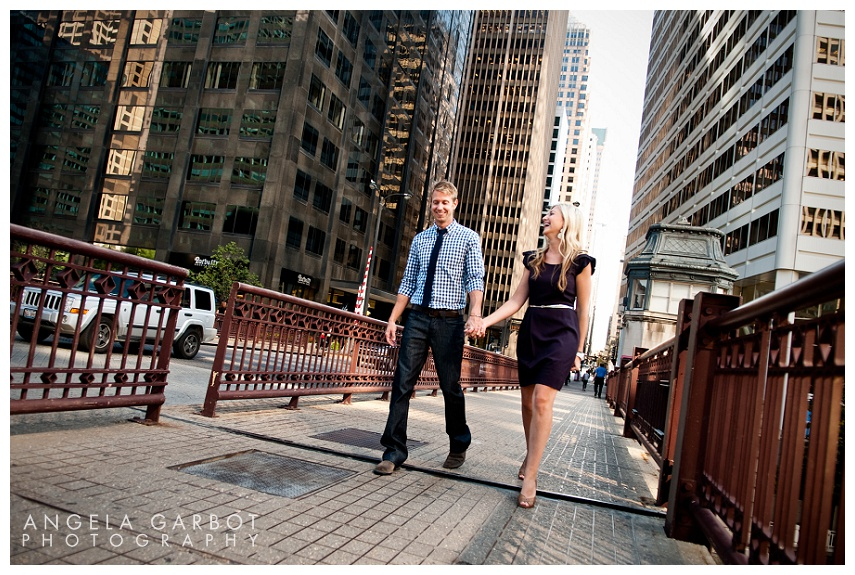 Monica Panocha + Tim Nierengarten | Pre-wedding and Engagement Session Chicago, IL Pre-wedding and Engagement photo session for Monica Panocha + Tim Nierengarten. We shot urban Chicago landscapes in the downtown and Loop area, including Union Station, Wacker Drive and along the Chicago River. All images © Angela Garbot Mandatory credit Angela B. Garbot Angela Garbot Photography | http://www.AngelaGarbot.com | http://www.facebook.com/agarbot Twitter: @PhotosByGarbot LinkedIn: www.linkedin/in/AngelaGarbotPhotography 773.383.8858 | angie@angelagarbot.com